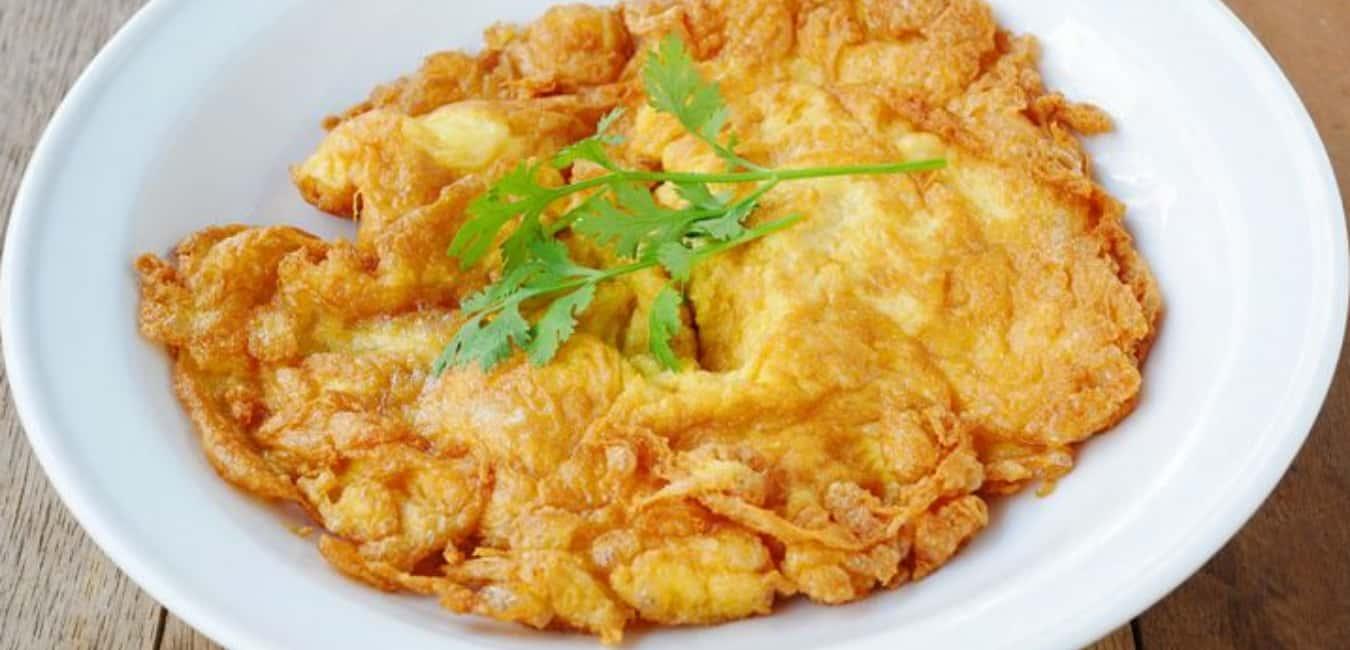 Kai Jeow (Thai Omelette) - Best Thai Food Portland