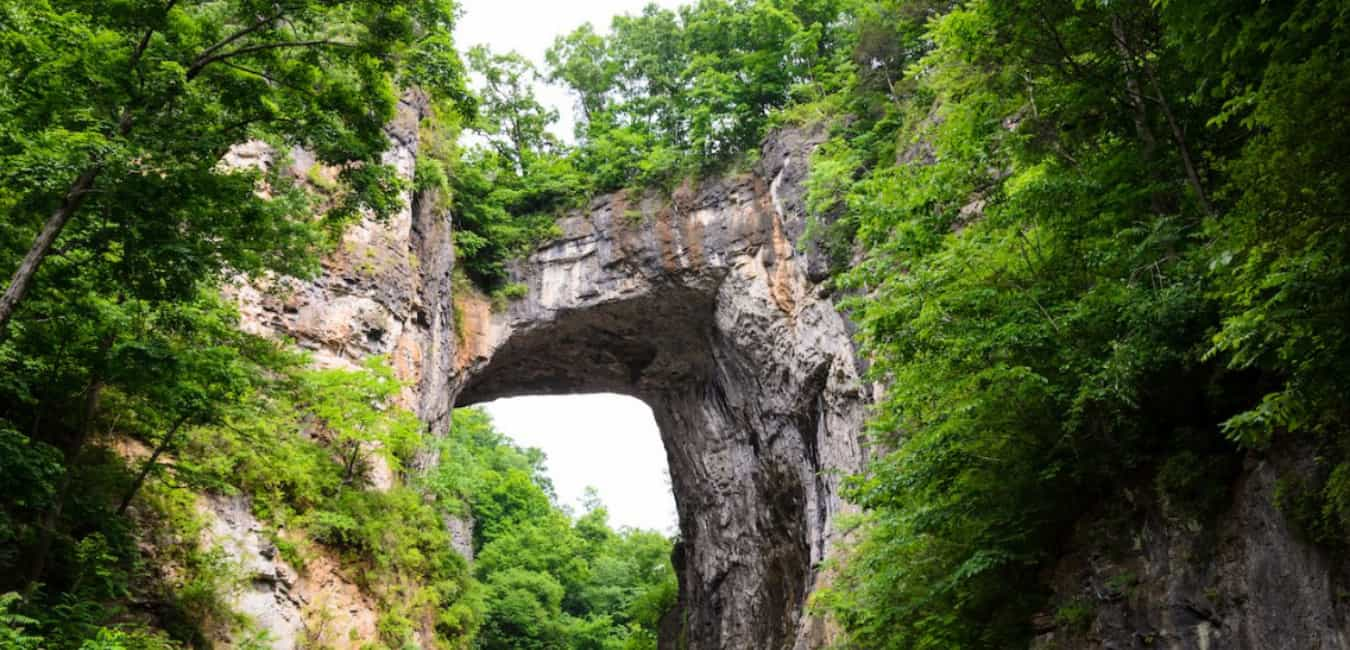 Natural Bridge - 500 + million years old