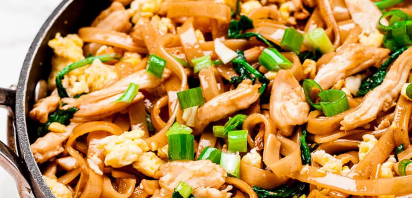 Pad Thai (Stir-fried Rice Noodle)