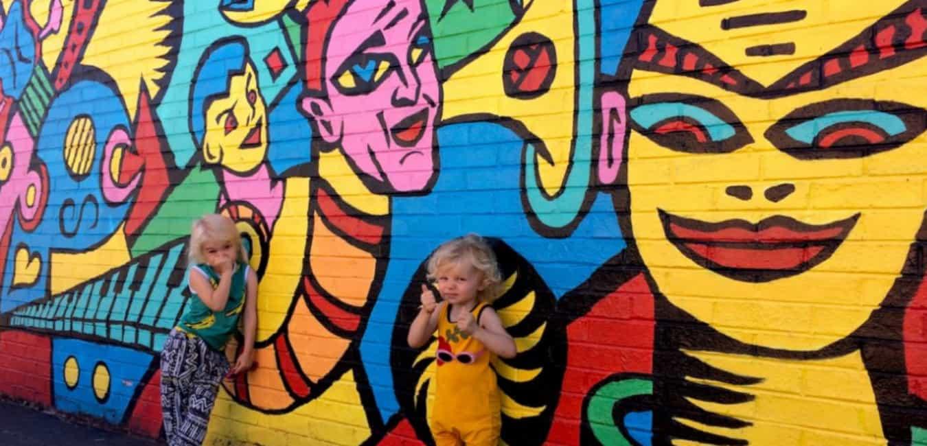 Portland Street Art with Kids