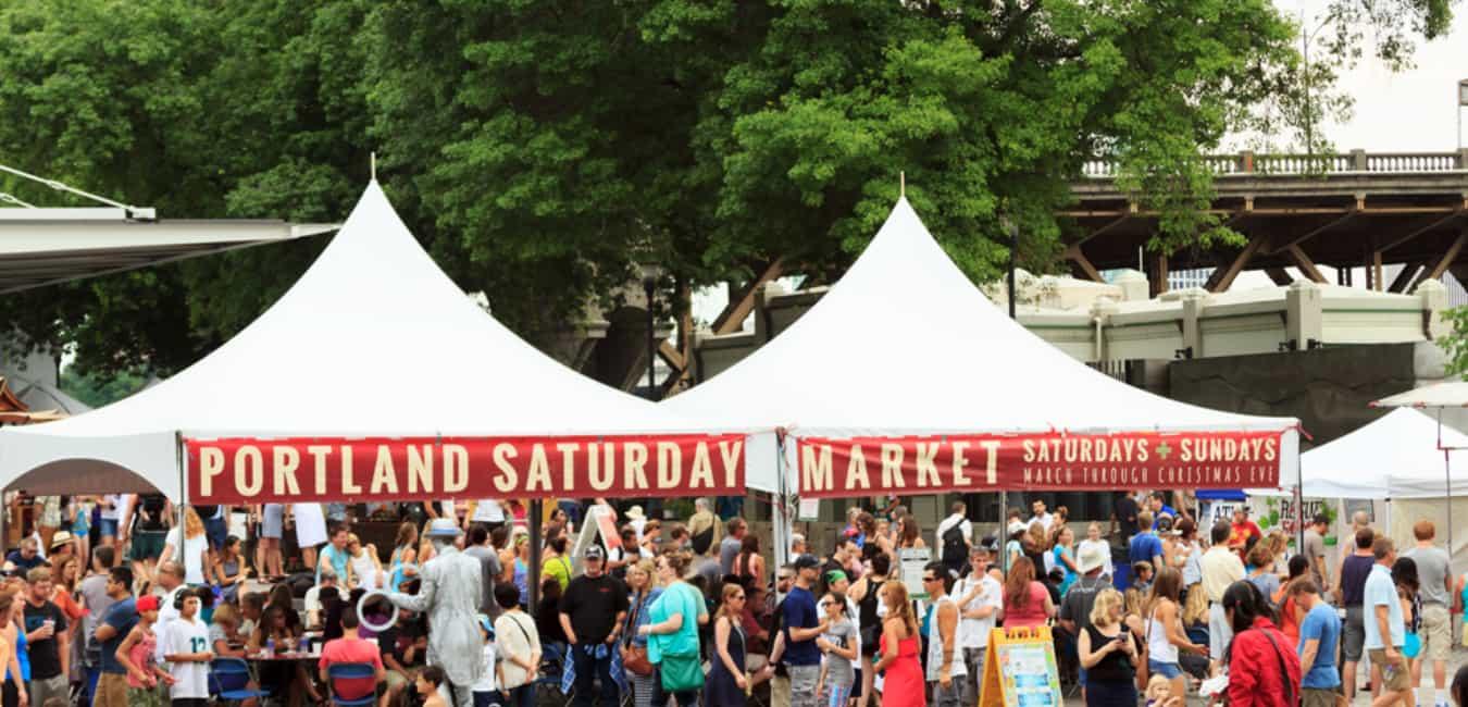 Shop The Portland Saturday Market