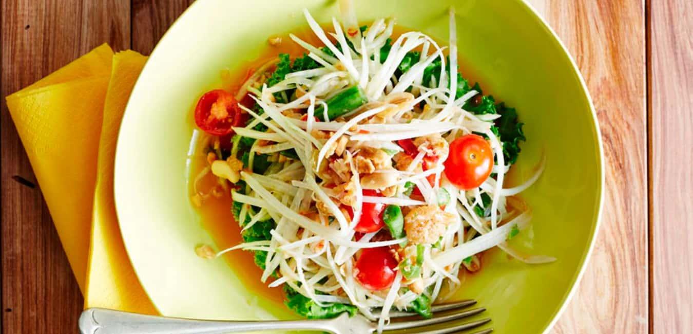 Som Tam (Spicy Green Papaya Salad)