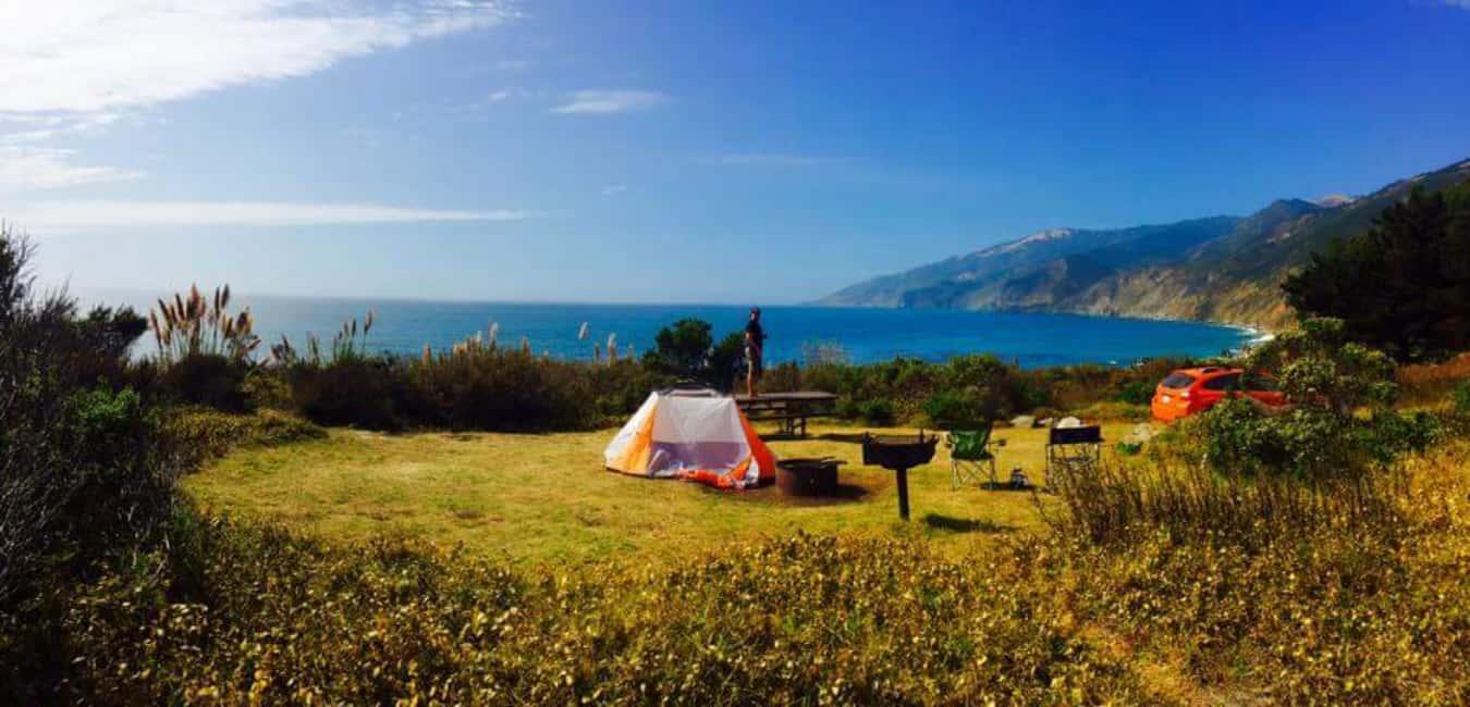 Best Campgrounds in Big Sur - Kirk Creek Campground
