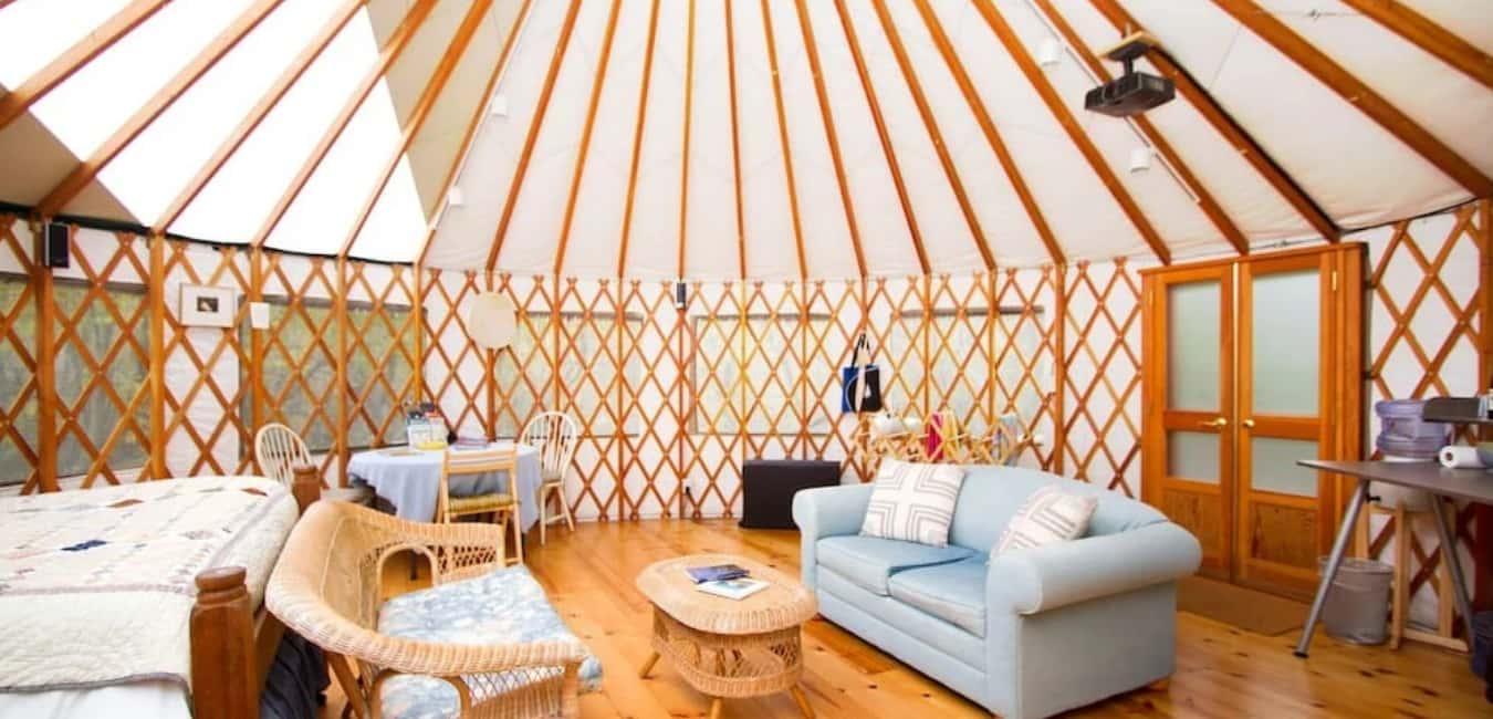 Carmel River Yurt Retreat