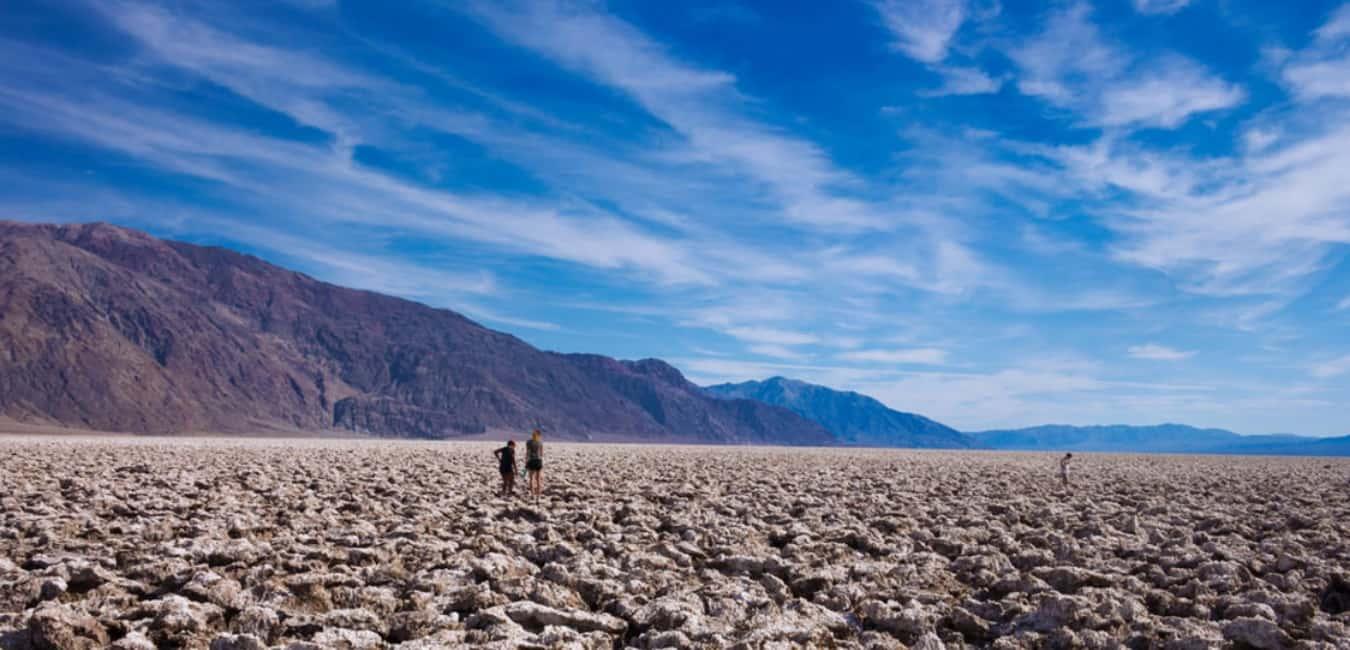 Devil Golf Course in Death Valley, California