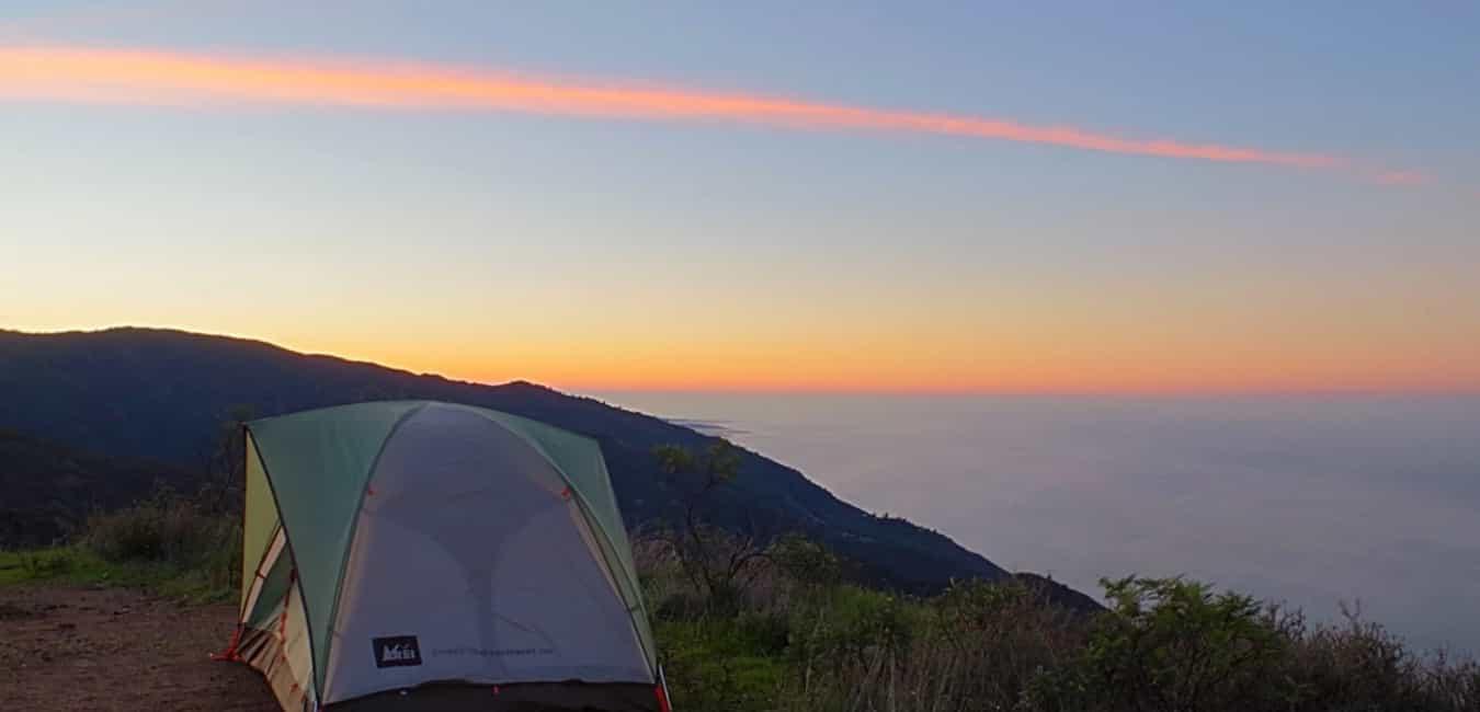 Free Camping at Los Burros Road