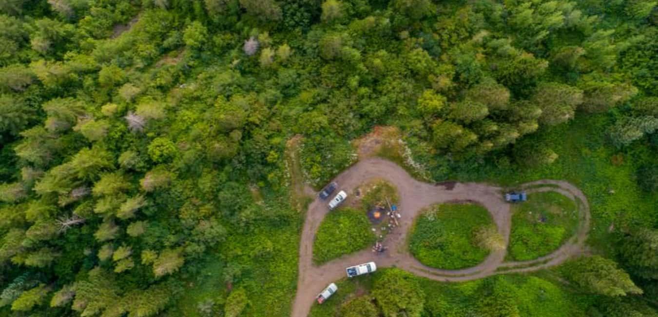 Locating the Dispersed Campsites