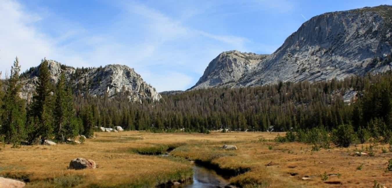 Tuolumne Meadows To Yosemite Valley Via Vogelsang Camp