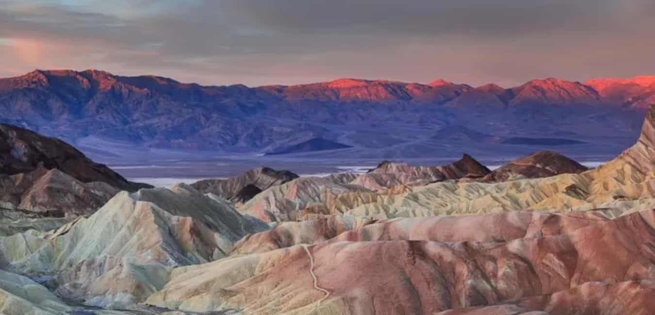 Weather at Zabriskie Point Death Valley