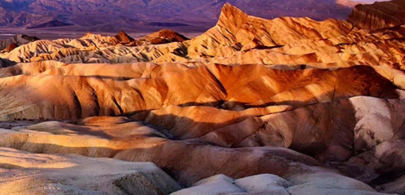 Zabriskie Point Death Valley Facts