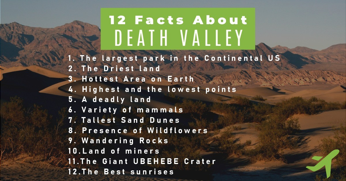 12 Facts About Death Valley