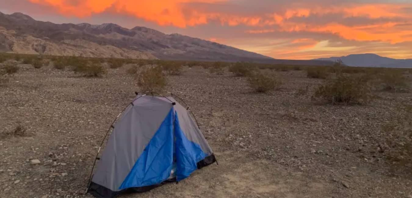 Free Camping in Death Valley National Park, California