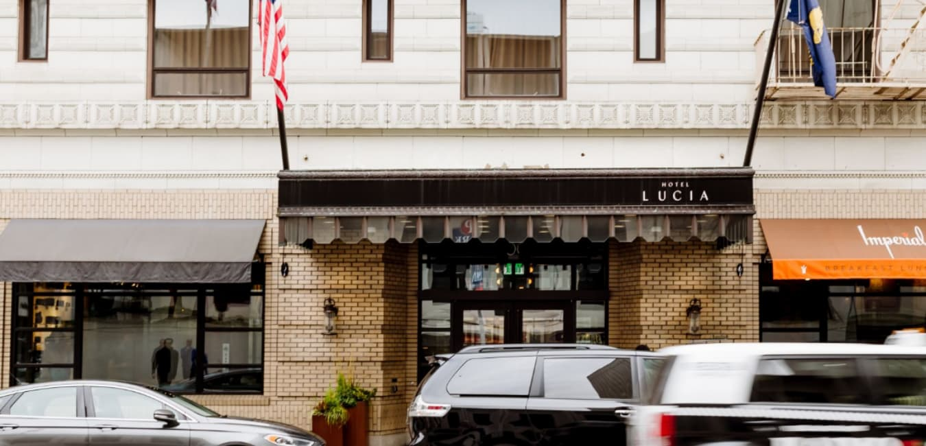 Hotel Lucia Portland – Parking