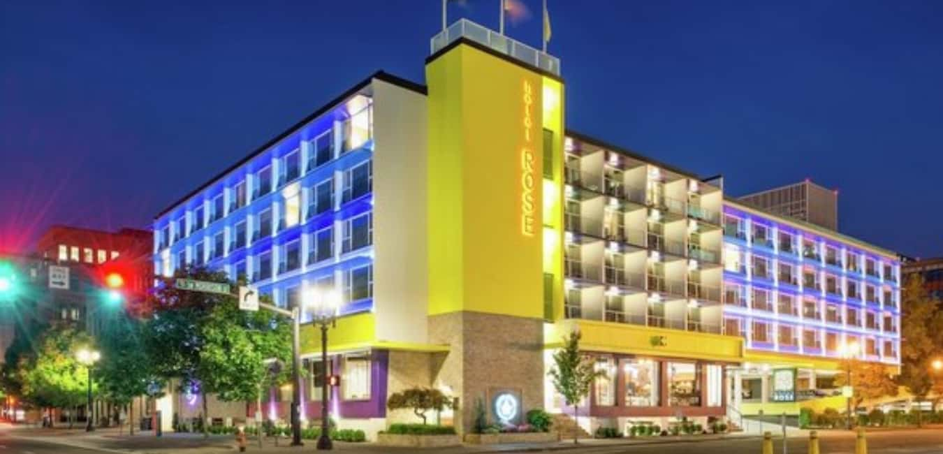 Hotel Rose Portland – A StayPineapple Hotel with Waterfront Views