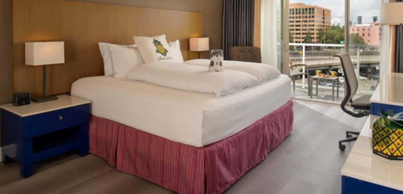 Hotel Rose Portland – Rooms