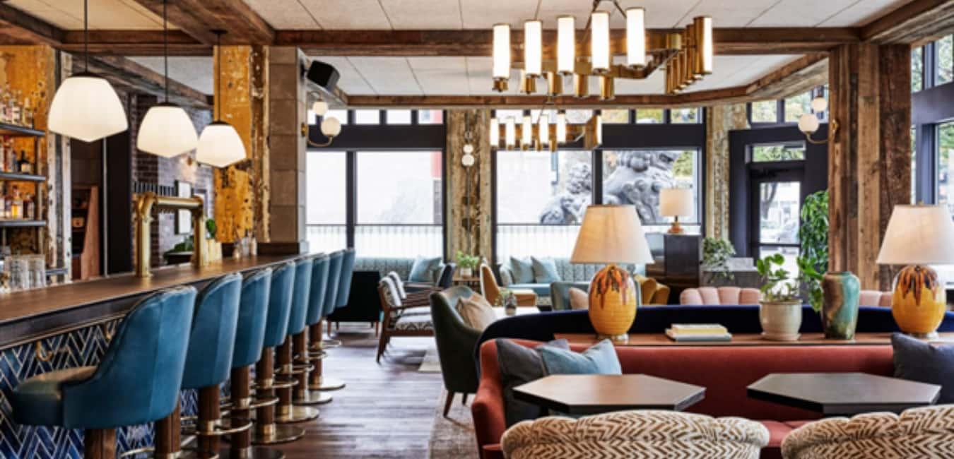 Hoxton Hotel - Lobby and the Hallways
