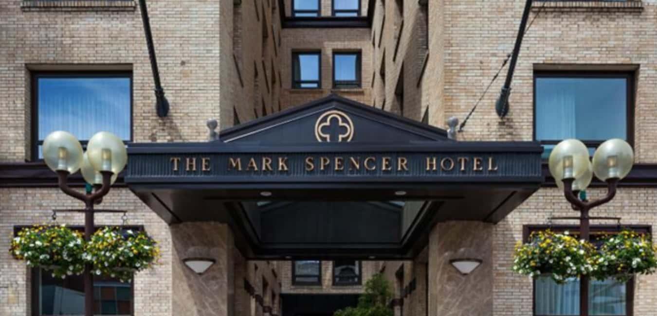 Mark Spencer Hotel, Portland – History