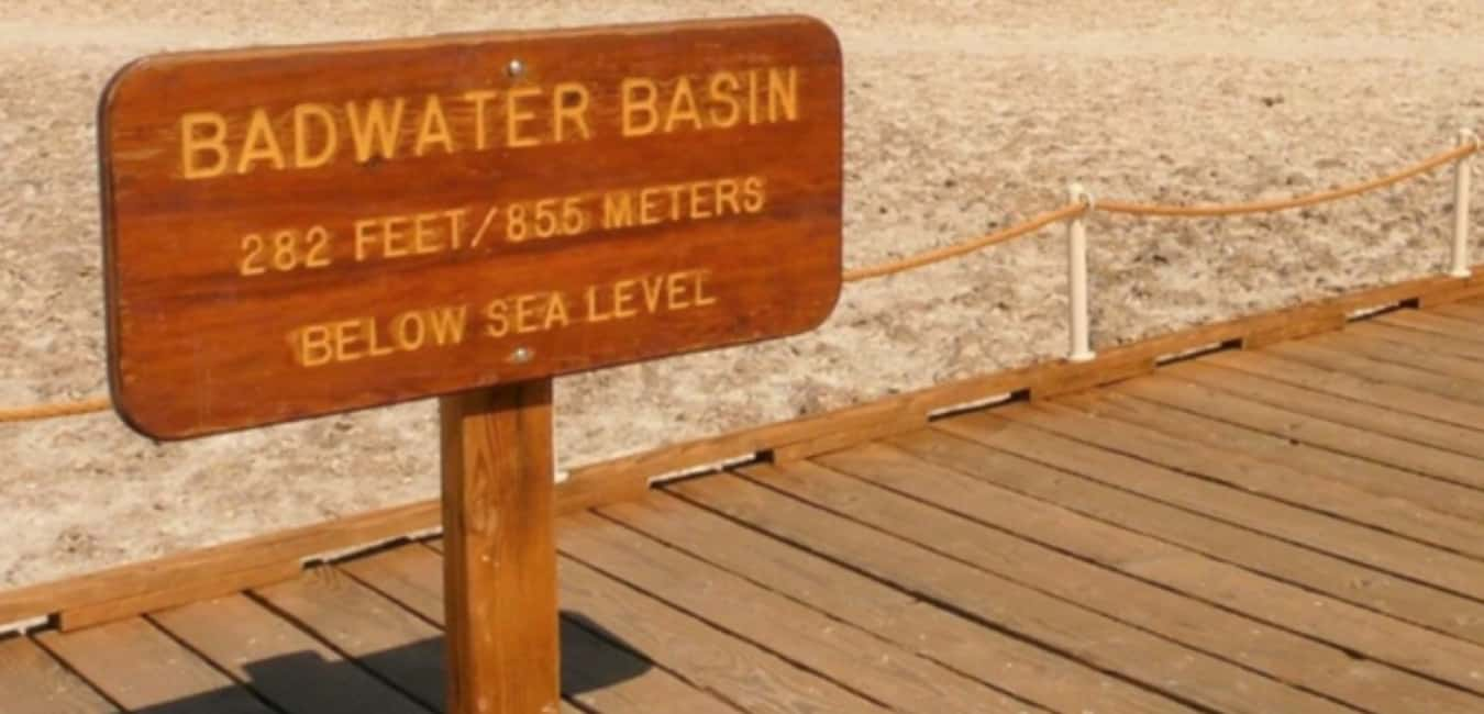 facts about death valley - The Highest and Lowest Points