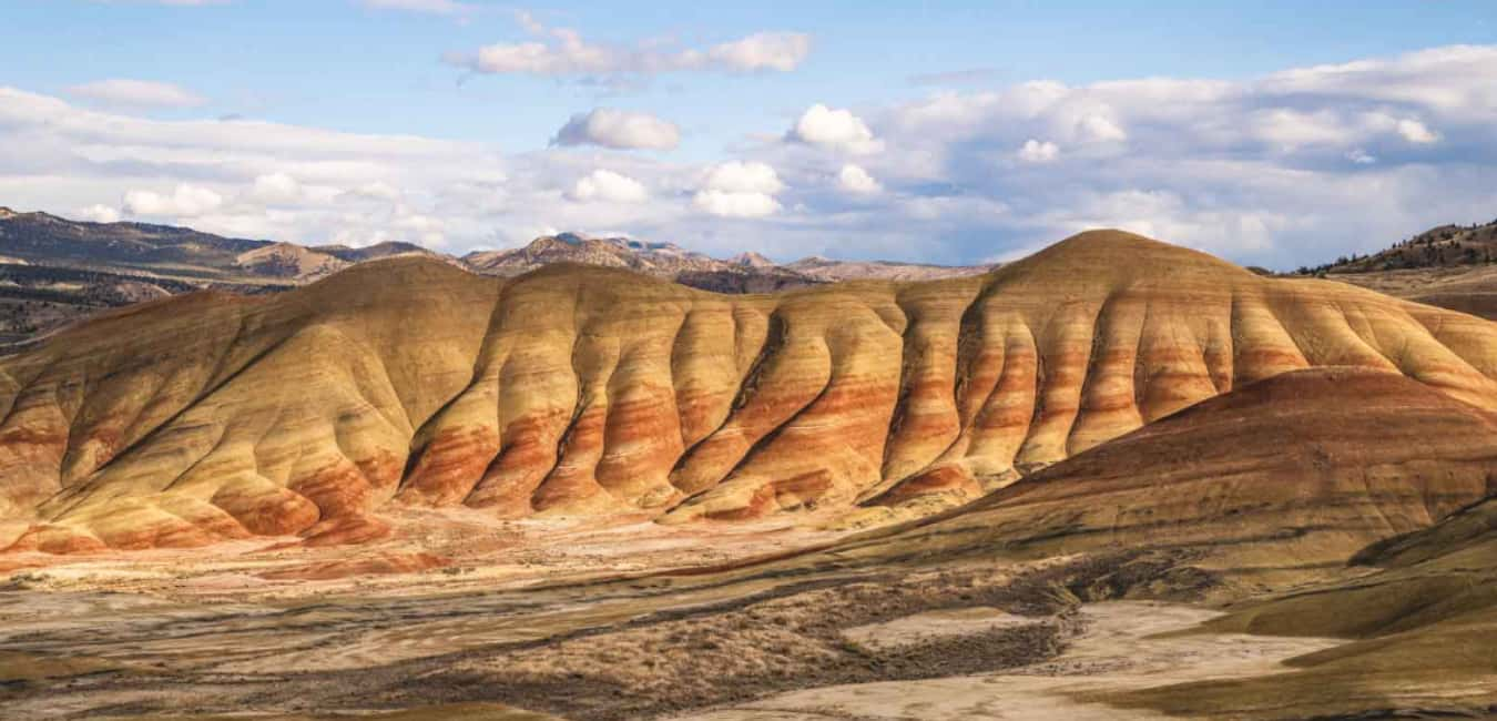 Painted Hills Oregon Camping
