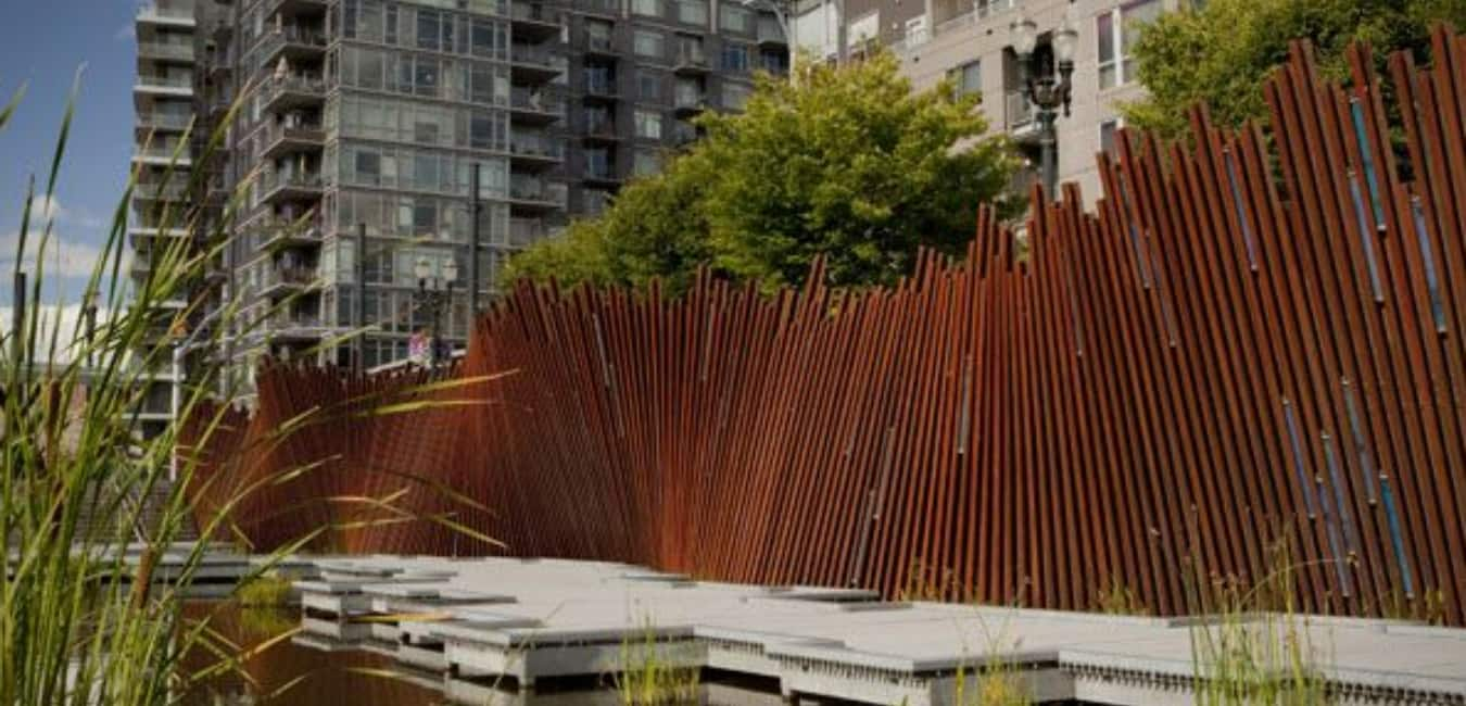 Tanner Springs Park - Design and Architecture of Park