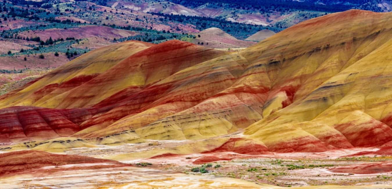 The Artistry of Oregon's Painted Hills