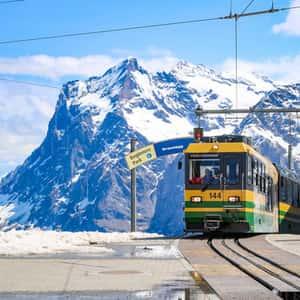 Take the train ride to the Jungfraujoch