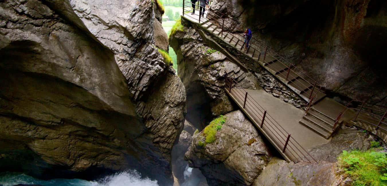Things To Do In Lauterbrunnen - Trummelbach falls