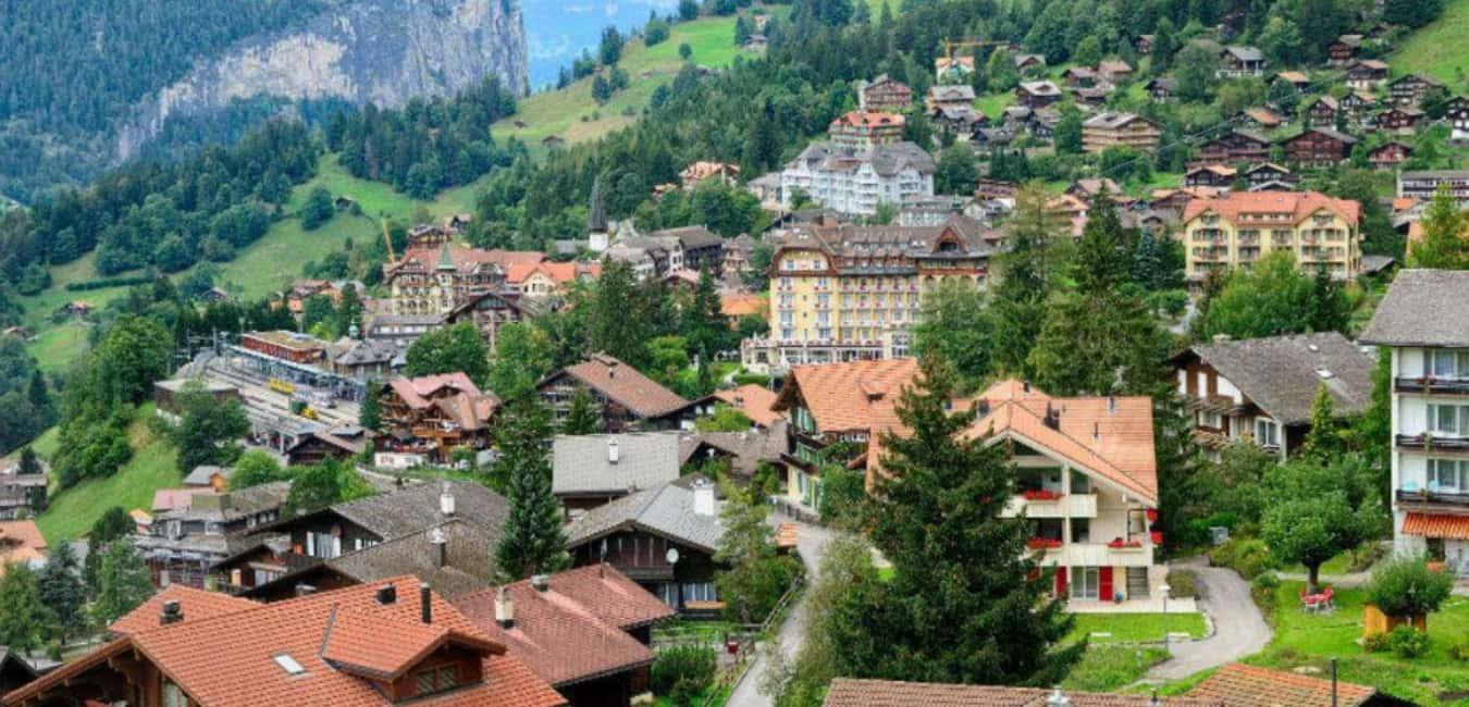 Visit Wengen village