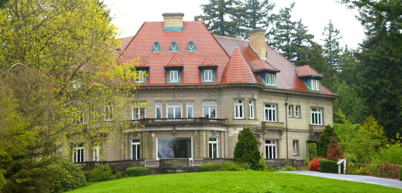 Where is Pittock mansion